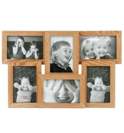 Present Time - Cornice 6 foto in legno