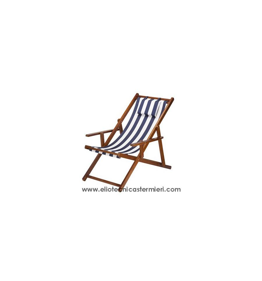La chaise longue sedia sdraio in legno - La chaise longue rouen ...