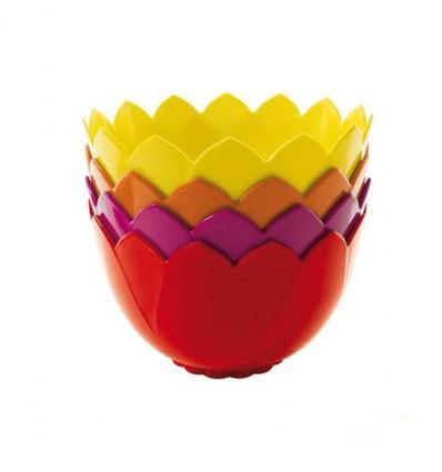 Zak! Design - Lotus Appetizer set 4 pz - Ø 13 cm