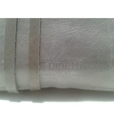 Pinetti - Pochette Doppio Astuccio in Pelle Vintage