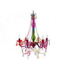 PRESENT TIME Lampadario Gipsy Multicolor Silly