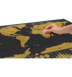 LUCKIES SCRATCH MAP DELUXE - MAPPA DA GRATTARE