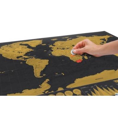SCRATCH MAP DELUXE - MAPPA DA GRATTARE