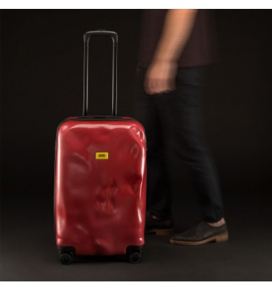 CRASH BAGGAGE RED PASSION 4 RUOTE