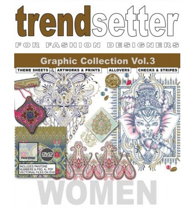 Trendsetter Women Graphic Collection Vol. 3 incl. DVD