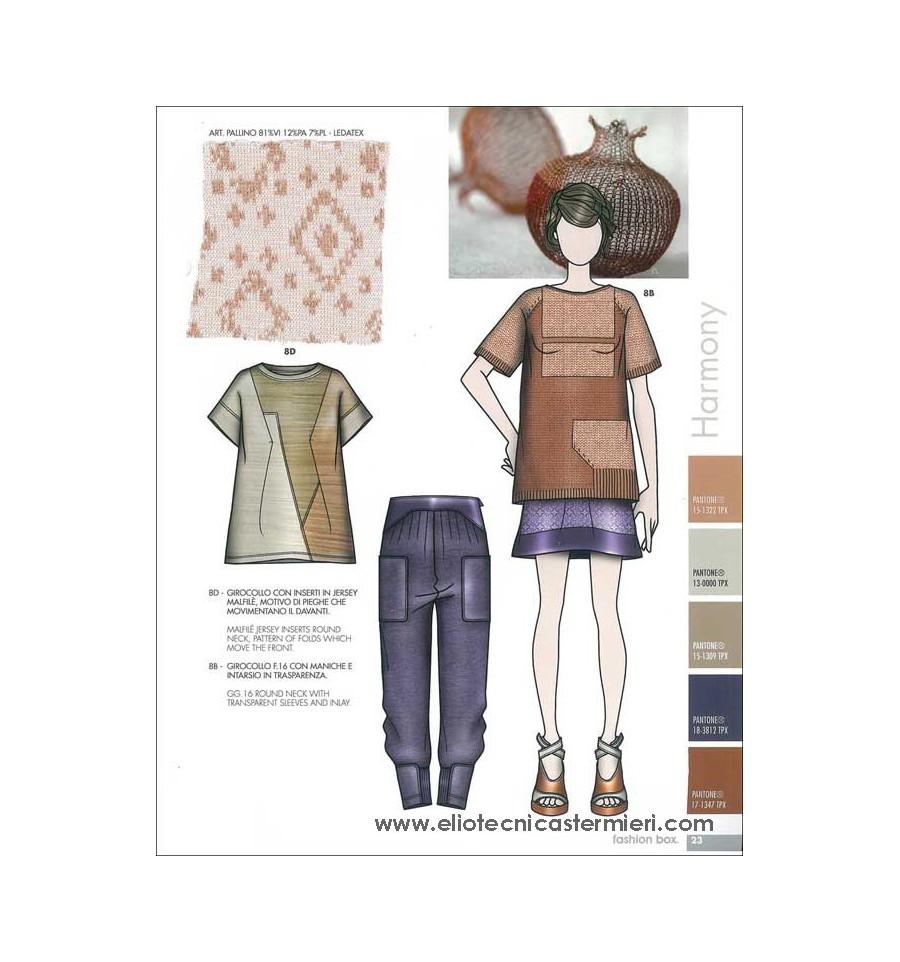 Fashion Box Women 39 S Knitwear T Shirt S S 2016