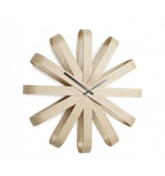 UMBRA RIBBON WOOD CLOCK