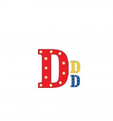 PUSHER CIRCUS LETTERS D