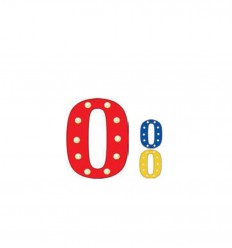 PUSHER CIRCUS LETTERS O