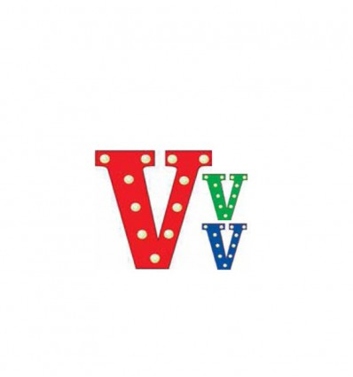 PUSHER CIRCUS LETTERS V