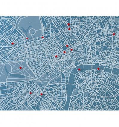 PALOMAR PIN CITY LONDON MAPPA FELTRO