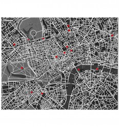 PALOMAR PIN CITY LONDON MAPPA FELTRO