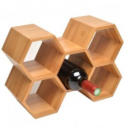 La Chaise Longue Portabottiglie vino in legno