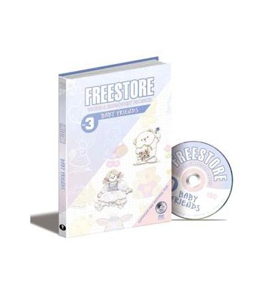 Free Store Vol. 3 Baby Friends + DVD