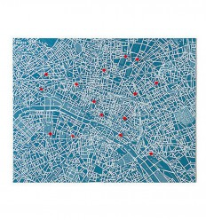PALOMAR PIN CITY PARIS MAPPA FELTRO