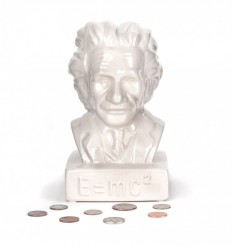 KIKKERLAND EINSTEIN MONEY BANK