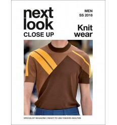 NEXT LOOK CLOSE UP MEN KNITWEAR 01 S-S 2018