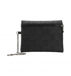BAG POCHETTE ECOPELLE PATCH