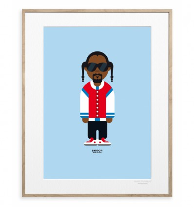 IMAGE REPUBLIC POSTER 30X40 SNOOP DOG