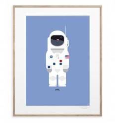 IMAGE REPUBLIC POSTER 30X40 NEIL ARMSTRONG