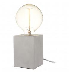 LA CHAISE LONGUE LAMPE CUBE BETON