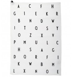DESIGN LETTERS TEA TOWEL