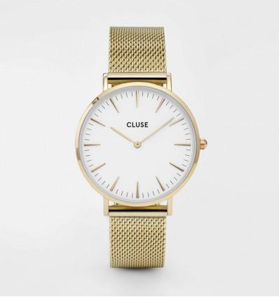 CLUSE LA BOHÈME MESH GOLD/WHITE