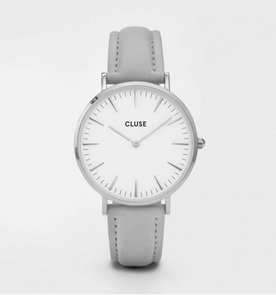 CLUSE LA BOHÈME SILVER WHITE/GREY