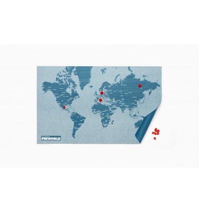 PALOMAR - PIN WORLD MAPPA FELTRO