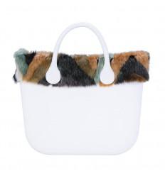 O Bag Ecopelliccia