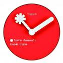 CREATIVANDO OROLOGIO CM 11 LOVE DOESN'T KNOW TIME