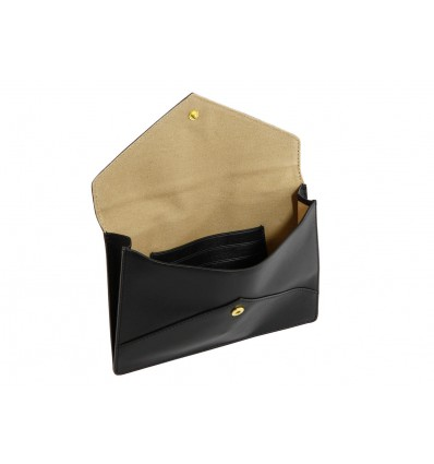 NAVA BUSTA IN PELLE ENVELOPE BLACK