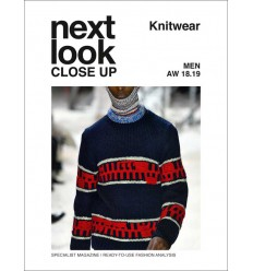 Next Look Close Up Men Knitwear 04 AW 2018-19