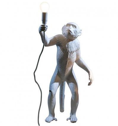 Seletti Monkey Lamp In Piedi