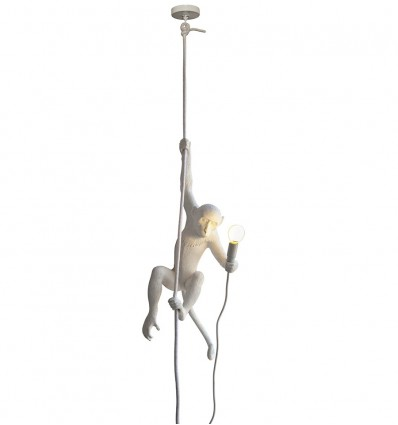 Seletti Monkey Lamp Con Corda