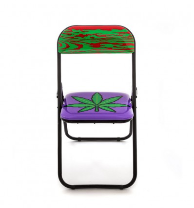 SELETTI FOLDING CHAIR WEED
