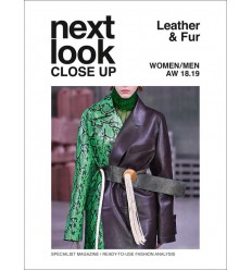 NEXT LOOK WOMEN LEATHER & FUR 04 AW 2018-19