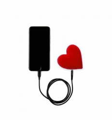 MOJIPOWER HEART POWER BANK 2600 mAh