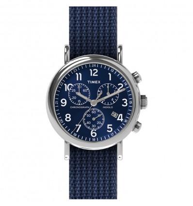 TIMEX CINTURINO MICRO REPS BLUE INDACO