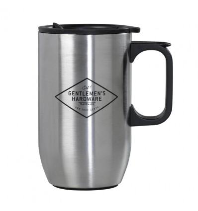 GENTLEMEN'S HARDWARE Steel Travel Mug.