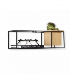 UMBRA CUBIST SMALL SHELF BLACK