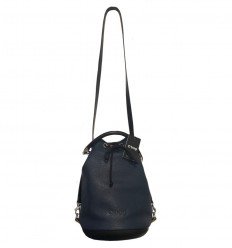 O BAG VIOLET COLORE BLU NAVY