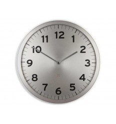UMBRA ANYTIME CLOCK NICKEL