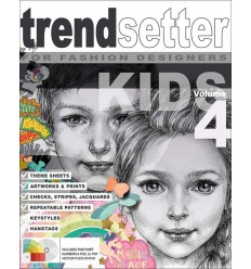 Trendsetter Kids Graphic Collection VOL 4 Incl DVD