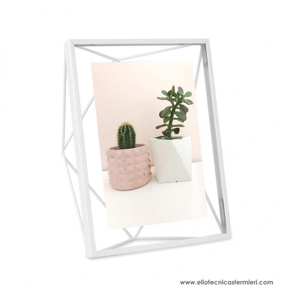 Umbra cornice prisma white foto 13 x 18 19 50 for Prisma arredo negozi