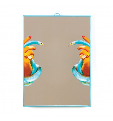 SELETTI MIRROR BIG HANDS WITH SNAKES