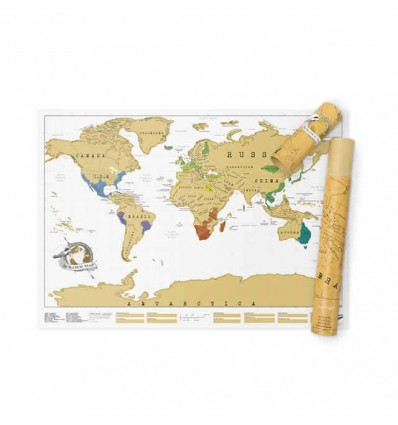 LUCKIES SCRATCH MAP - MAPPA DA GRATTARE