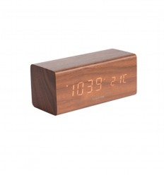 KARLSSON TABLE CLOCK BLOCK