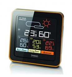 OREGON COLOUR LCD MULTIZONE WEATHER STATION