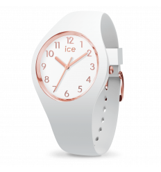 ICE WATCH GLAM WHITE ROSEGOLD S